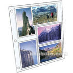 "MBI Refill Pages for Library Collection Albums (4 x 6"", 5-Pack)"