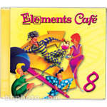Sound Ideas Sample CD: Elements Cafe 8 - 1 CD Audio