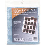 Print File Archival Storage Page for Negatives, 120 - 100 Pack
