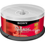 Sony CD-R Music Recordable Compact Disc (Spindle Pack of 30)