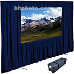 "Draper Dress Kit for Ultimate Folding Screen with Case - 84 x 84"" - Navy"