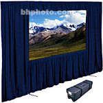 "Draper Dress Kit for Ultimate Folding Screen with Case - 62 x 108""- Navy"