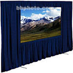 "Draper Dress Kit for Ultimate Folding Screen without Case - 112 x 196"" - Navy"