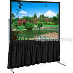 "Draper Dress Skirt for Ultimate Folding Projection Screen-57x103""-Black"
