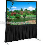 "Draper Skirt for Ultimate 64x115"" Folding Projection Screen - Black"