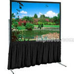 "Draper Dress Skirt for Ultimate Folding Projection Screen-67x67""-Black"