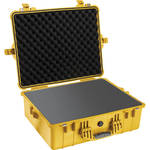 Pelican 1600 Case with Foam Set (Yellow)