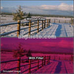 "Tiffen 2 x 3"" 3 Cranberry Solid Color Filter"