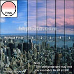 "Tiffen 3 x 3"" 1 Pink Hard-Edge Graduated Filter"