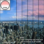 "Tiffen 4 x 6"" 1 Pink Hard-Edge Graduated Filter (Vertical Orientation)"