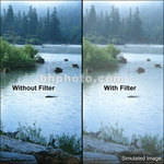 "Tiffen 6 x 4"" Double Fog 1/8 Filter"