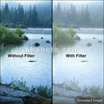 "Tiffen 6 x 4"" Double Fog 2 Filter"