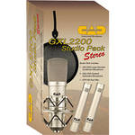 CAD GXL2200 Stereo Studio Pack Bundle