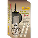 CAD GXL3000 Stereo Studio Pack Bundle