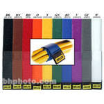 "Rip-Tie CableWrap 1 x 9"" (10 Pack) (Rainbow)"