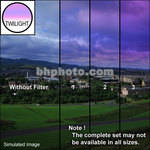 "Tiffen 2 x 3"" 1 Twilight Graduated Filter (Vertical Orientation)"