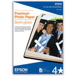 "Epson Premium Photo Paper Semi-Gloss (4 x 6"", 40 Sheets)"