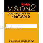 Kodak Vision2 100T #5212/7212 35mm Color Negative Movie Film - 400'