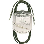 "Pro Co Sound StageMASTER 1/4"" Male to 1/4"" Male Instrument Cable - 10'"