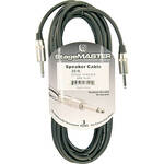 "Pro Co Sound StageMaster Z-Force 1/4"" to 1/4"" Speaker Cable (14 Gauge) - 25'"