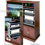 "Middle Atlantic ASR60HD 60"" Slide/Rotating 9-Shelf Sys"
