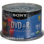 Sony 4.7GB DVD+R Recordable Disc (50)