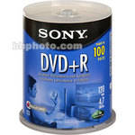 Sony 4.7GB DVD+R Recordable Disc (100)