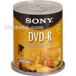 Sony 4.7 GB DVD-R (100 Discs)