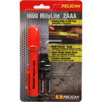 Pelican Mitylite 1900 Flashlight 2 'AAA' Xenon Lamp (Orange)