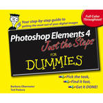 Wiley Publications Book: Photoshop Elements 4 Just the Steps For Dummies