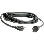 Hosa Technology Black Electrical Extension Cable  - 1.5'