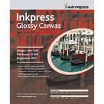 "Inkpress Media Glossy Canvas - 8.5 x 11"" (Letter) (10 Sheets)"