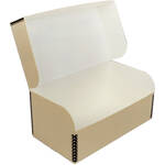 "Archival Methods Hinged Lid Box (10.25 x 5.5 x 4.5"", Tan)"