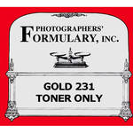 Photographers' Formulary Gold 231 Toner Only without Fixer