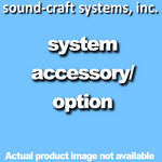 "Sound-Craft Systems 6 x 18"" Brass Logo"