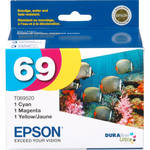 Epson 69 DURABrite Ultra 3-Color Ink Cartridge Pack