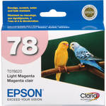 Epson 78 Claria Hi-Definition Light Magenta Ink Cartridge