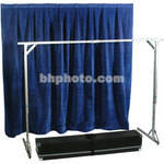 The Screen Works E-Z Fold Tech Surround - Velour - Blue
