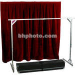 The Screen Works E-Z Fold Tech Surround - Velour - Burgundy