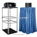 The Screen Works E-Z Fold Equipment Tower Kit - Velaire/Blue
