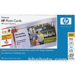 "HP Premium Photo Greeting Cards -  4x8"" - 40 Cards with Envelopes"