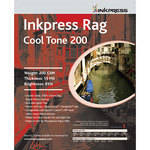 "Inkpress Media Picture Rag Cool Tone Paper - 13"" Wide Roll - 50' Long"