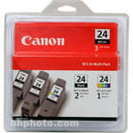 Canon BCI-24 Three Ink Cartridge Pack