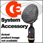 Coles Microphones Brass Shock Mount Microphone to Stand Adapter