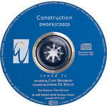 Sound Ideas Sampled CD: De Wolfe Library - Construction (Disc DW20)