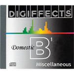 Sound Ideas Sample CD: Digiffects Domestic SFX - Miscellaneous (Disc B01)