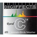 Sound Ideas Sample CD: Digiffects Rural SFX - Birds, Animals & Weather (Disc C14)