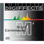 Sound Ideas Digiffects Mixed Environments Series M - Full Set of 4 CDs