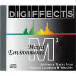 Sound Ideas Sample CD: Digiffects Mixed Environments SFX - Ambience Tracks from Natural Locations & Weather (Disc M02)