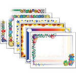 "Dry Lam Pizzazz Decorative Laminating Pouches - Assorted Pack - Fun Frames 9 x 11.5""  (24 Pack)"